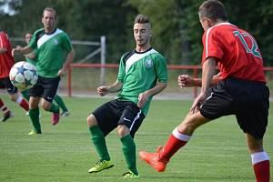 Přípravné utkání: Rejšice B - Sporting Mladá Boleslav.