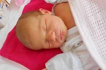 Amálie Pavlíková přišla na svět 8. dubna s mírami 3,54 kg a 50 cm. S maminkou Pavlou a tatínkem Jakubem bude bydlet v Mladé Boleslavi, kde už se na ni těší sestřička Natálka.