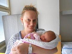 ADRIANKA Jindrová se narodila 27. prosince, vážila 3,19 kg a měřila 49 cm. S maminkou Kristýnou a tatínkem Jakubem bude bydlet v Mladé Boleslavi.