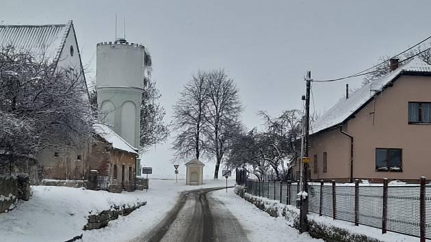 Boleslavsko opět zasypal sníh.