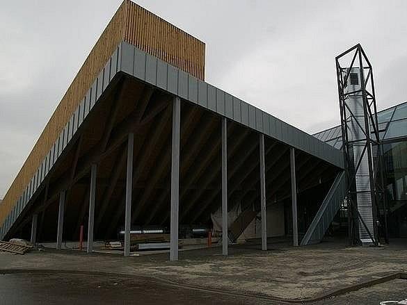 Budova leteckého muzea