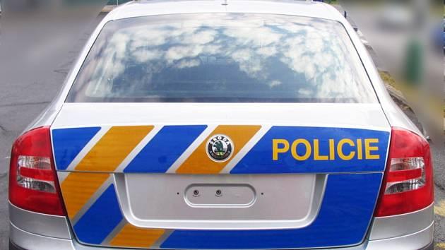 Nová policejní Škoda Octavia vyfotografovaná nedaleko mladoboleslavské automobilky Škoda.