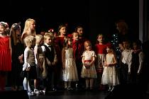 Z Vánočního koncertu dětského pěveckého sboru Paprsek v roce 2019.