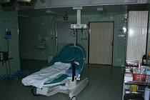 Porodní sál Klaudinánovy nemocnice v Mladé Boleslavi