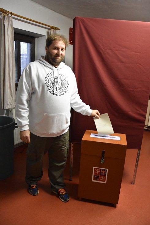 Prezidentské volby - Vinařice.