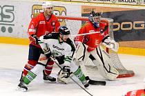 I. hokejová liga, 2. zápas semifinále: BK Mladá Boleslav - Horácká Slavia Třebíč