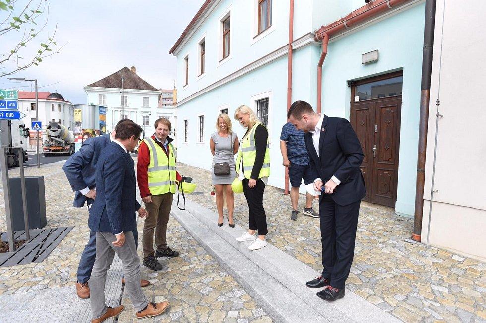 Z návštěvy Petry Peckové v Mnichově Hradišti.