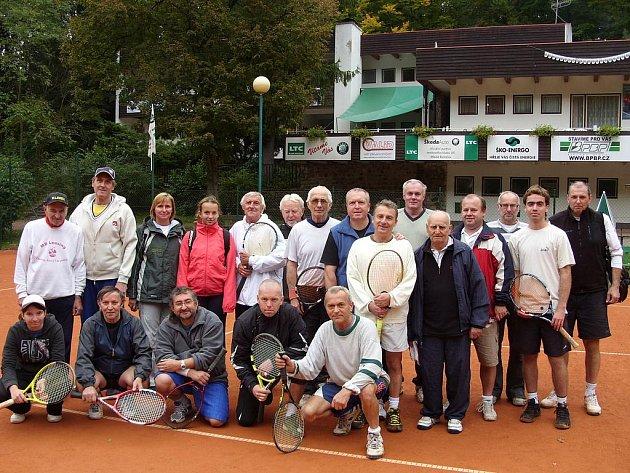 Účastníci závěrečného turnaje čtyřher na boleslavské Štěpánce