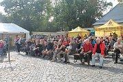 Svatováclavské slavnosti na zámku Svijany provázela skvělá atmosféra a jarní počasí.