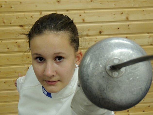 Anna Coufalová z 1. FC Bělá pod Bezdězem bude na turnaji startovat také.