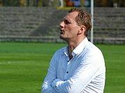 Trenér dorostenců Vladimír Sedláček
