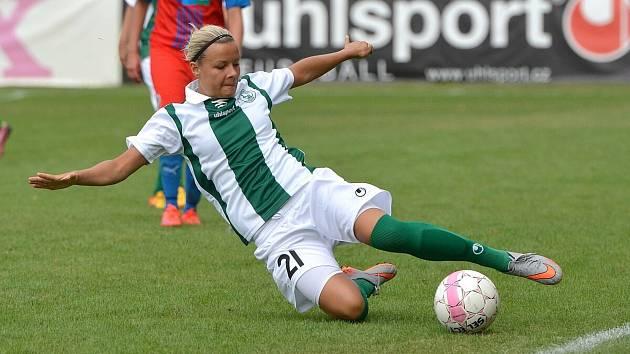 Fotbalistka Martina Folprechtová se stala nejlepší Plážovou fotbalistkou roku 2020.