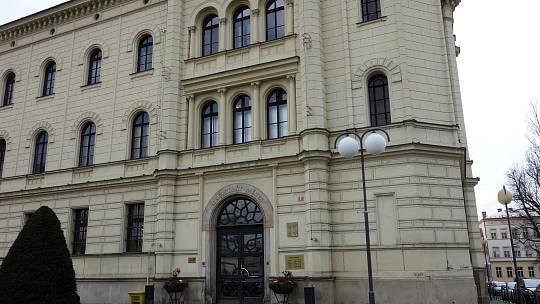 Budova magistrátu v Mladé Boleslavi.
