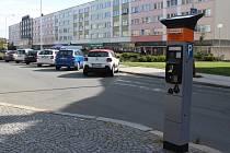 Parkoviště na Mírovém náměstí