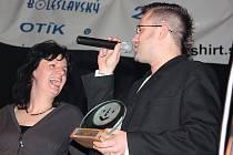 Kapela S.O.S získala Otíka 2008 za třetí místo v anketě popularity na Mladoboleslavsku.