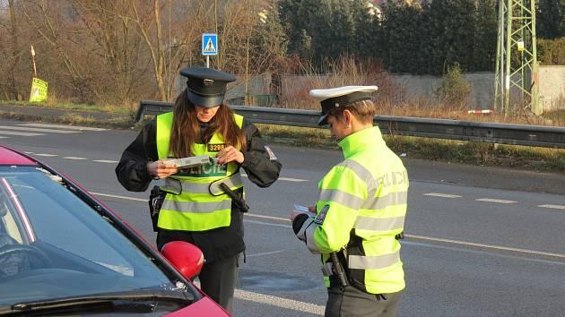Policisté kontrolovali řidiče na Mladoboleslavsku