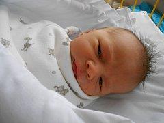 JAKUB Fliegel se narodil 26. listopadu. Vážil 3,27 kilogramů a měřil 48 centimetrů. S maminkou Janou a tatínkem Janem bude bydlet v Mladé Boleslavi.