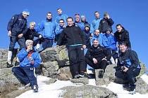 Výprava čejetických fotbalových dorostenců na zimním soustředění v Rokytnici nad Jizerou