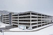 Nový parkovací dům v Mladé Boleslavi u 6. brány