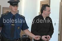 Ladislav Š, z Benátek nad Jizerou před soudem.