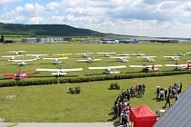 V LETECKÉM MUZEU Metoděje Vlacha v Mladé Boleslavi se sešli piloti ultra lehkých letadel, kteří do města automobilů přiletěli se svými stroji až z Německa.