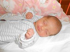 HANA Erbertová se narodila 8. března, vážila 2,94 kg a měřila 49 cm. A maminkou Janou a tatínkem Leošem bude bydlet v Malobratřicích.