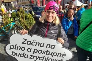Barbora Chumlenová z AC Mladá Boleslav vyhrála ženskou kategorii Třeboňského maratonu