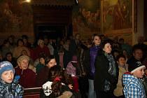 Otevření kostela svatého Havla v Horních Stakorech