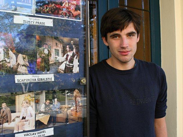 Václav Šanda nastoupil do Městského divadla v roce 2012.