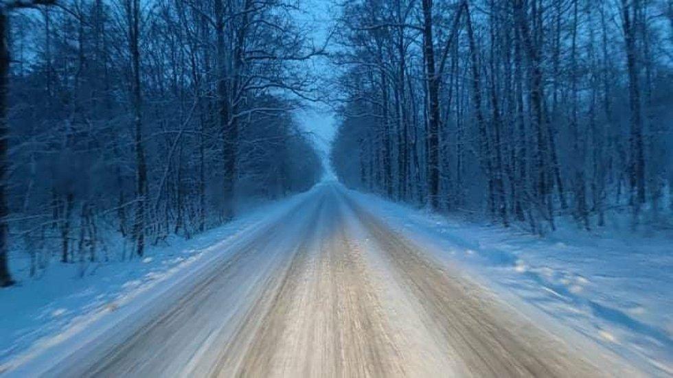 Zasněžené cesty