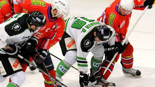 I. hokejová liga, 1. zápas semifinále: BK Mladá Boleslav - Horácká Slavia Třebíč