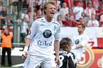 Ze zápasu FK Mladá Boleslav - Slavia Praha