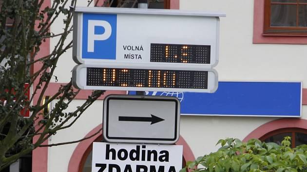 Parkování Boleslav - ilustrační foto
