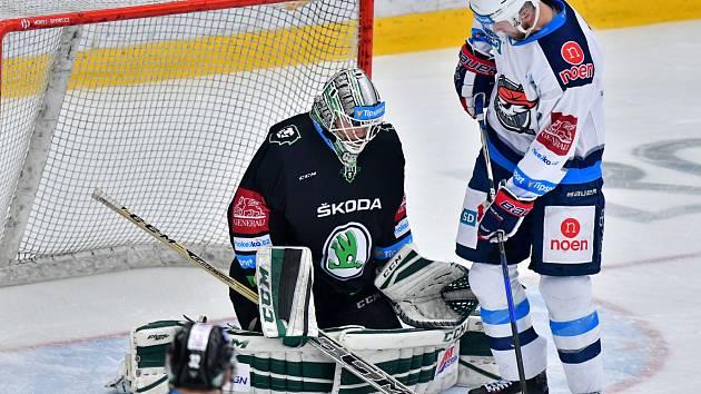 Hokejisté Mladé Boleslavi prohráli s Chomutovem.