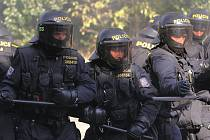 Výcvik pořádkové jednotky