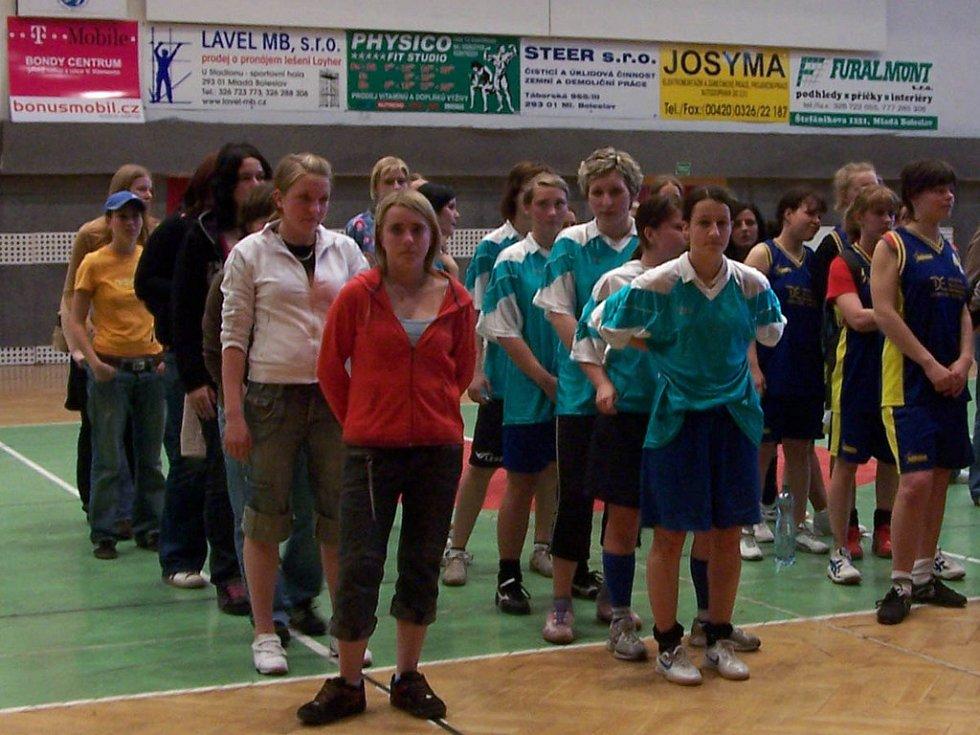 Turnaj středních škol v sálové kopané
