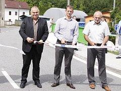 Dokončení rekonstrukce mostu a silnice Dolní Cetno