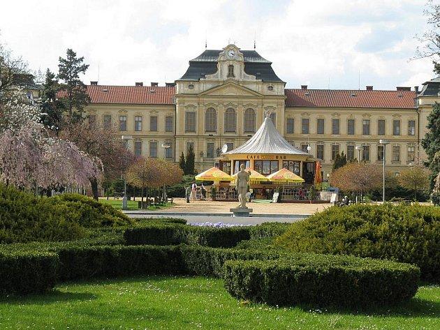 Park Na Výstavišti v centru Mladé Boleslavi