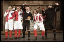 Z komedie Muži v offsidu v divadle v Mladé Boleslavi