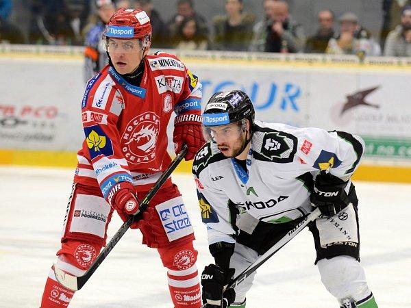 Hokejisté BK Mladá Boleslav porazili Třinec 4:1.