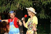 Děti dováděly ve školce v Bělé s klaunem