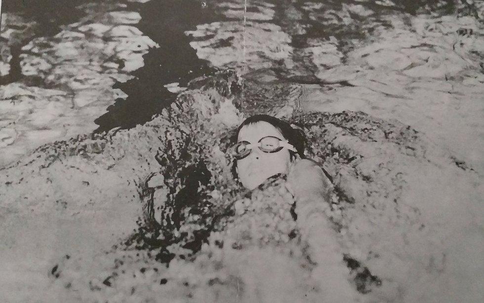 Anna Salabová, bronzová medailistka na žákovském přeboru ČSSR v Plzni v roce 1988.