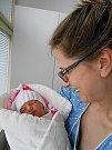 Anika Skakavac se narodila 21. ledna, vážila 2,25 kg a měřila 47 cm. Maminka Alena a tatínek Nemanja si ji odvezou domů do Čisté.