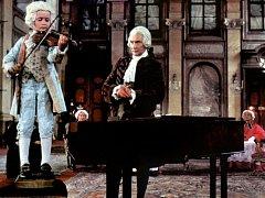 Devítiletý Miroslav Sekera ve Formanově oscarovém snímku Amadeus.