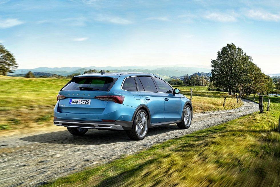 Škoda Auto ukázala novou generaci modelu Škoda Octavia Scout.