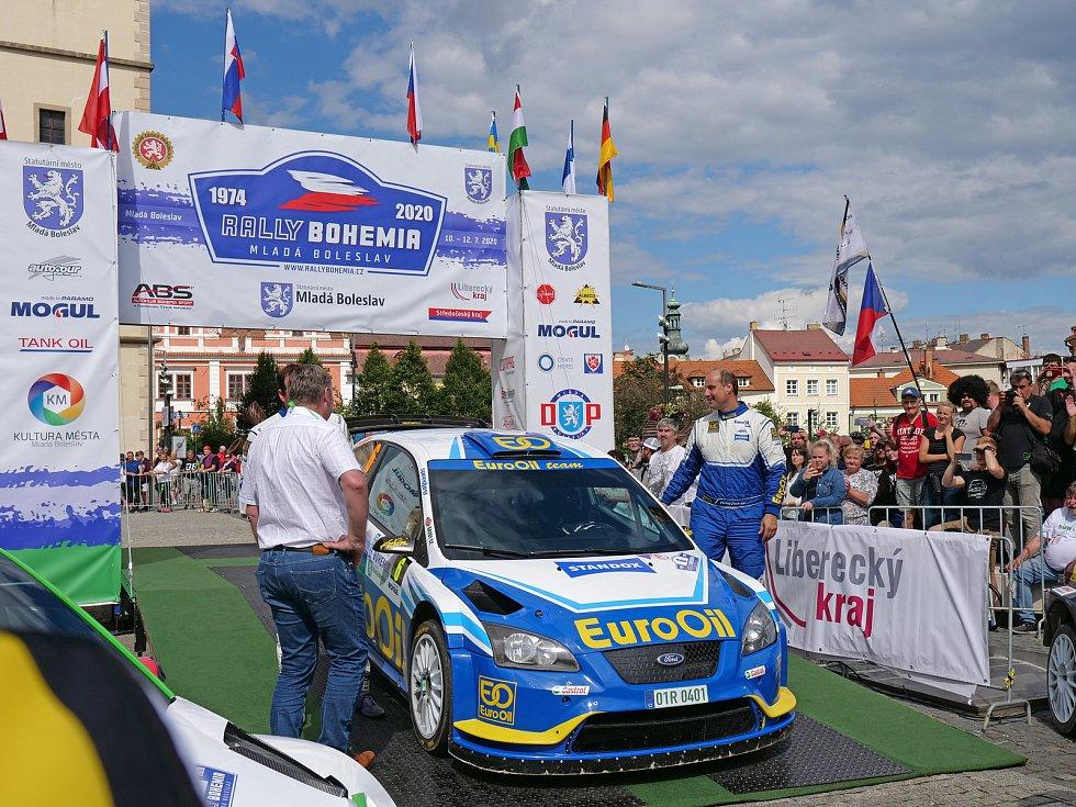 Bohemia Rally 2020 (foto z neděle 12.7.)
