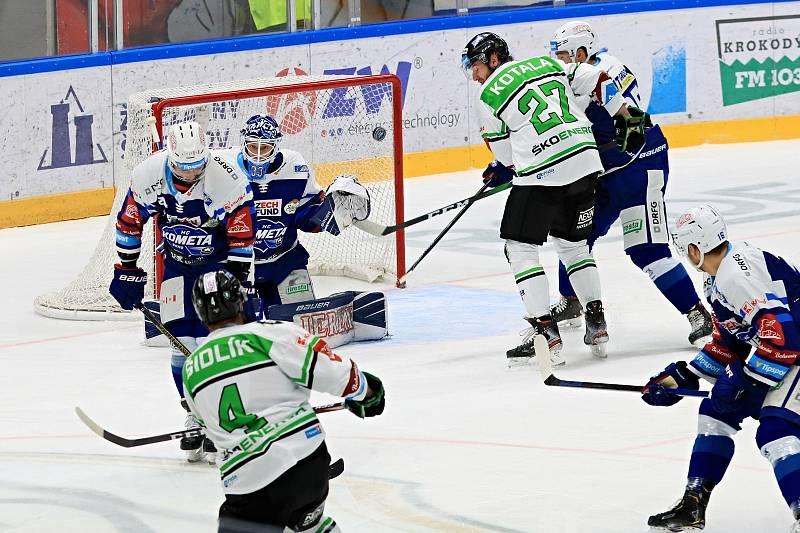 Hokejisté Komety si poradili na domácím ledě s Mladou Boleslaví. Foto: HC Kometa Brno/Vít Golda