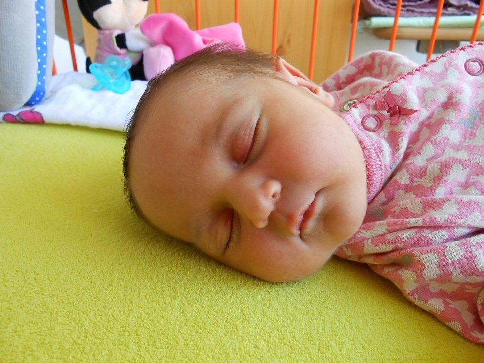 KATARZYNA Zacharko se narodila 30. října, vážila 3,5 kg a měřila 50 cm. Maminka Maja a tatínek Tomáš si ji odvezou domů do Lysé nad Labem.
