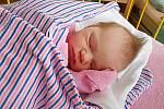 Karolína Kosinová se narodila 29. ledna, vážila 2,77 kg a měřila 46 cm. Maminka Tereza a tatínek Lukáš si ji odvezou domů do Pískové Lhoty, kde už se na ni těší bráška Lukášek.