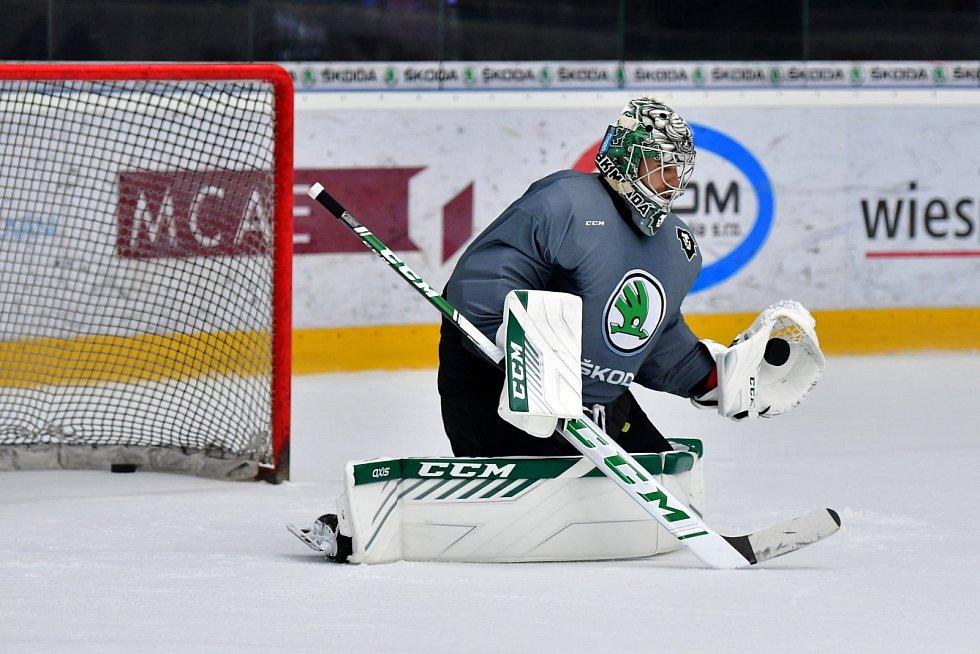 Mladoboleslavští hokejisté vyjeli před sezonou 2021/2022 poprvé na led.